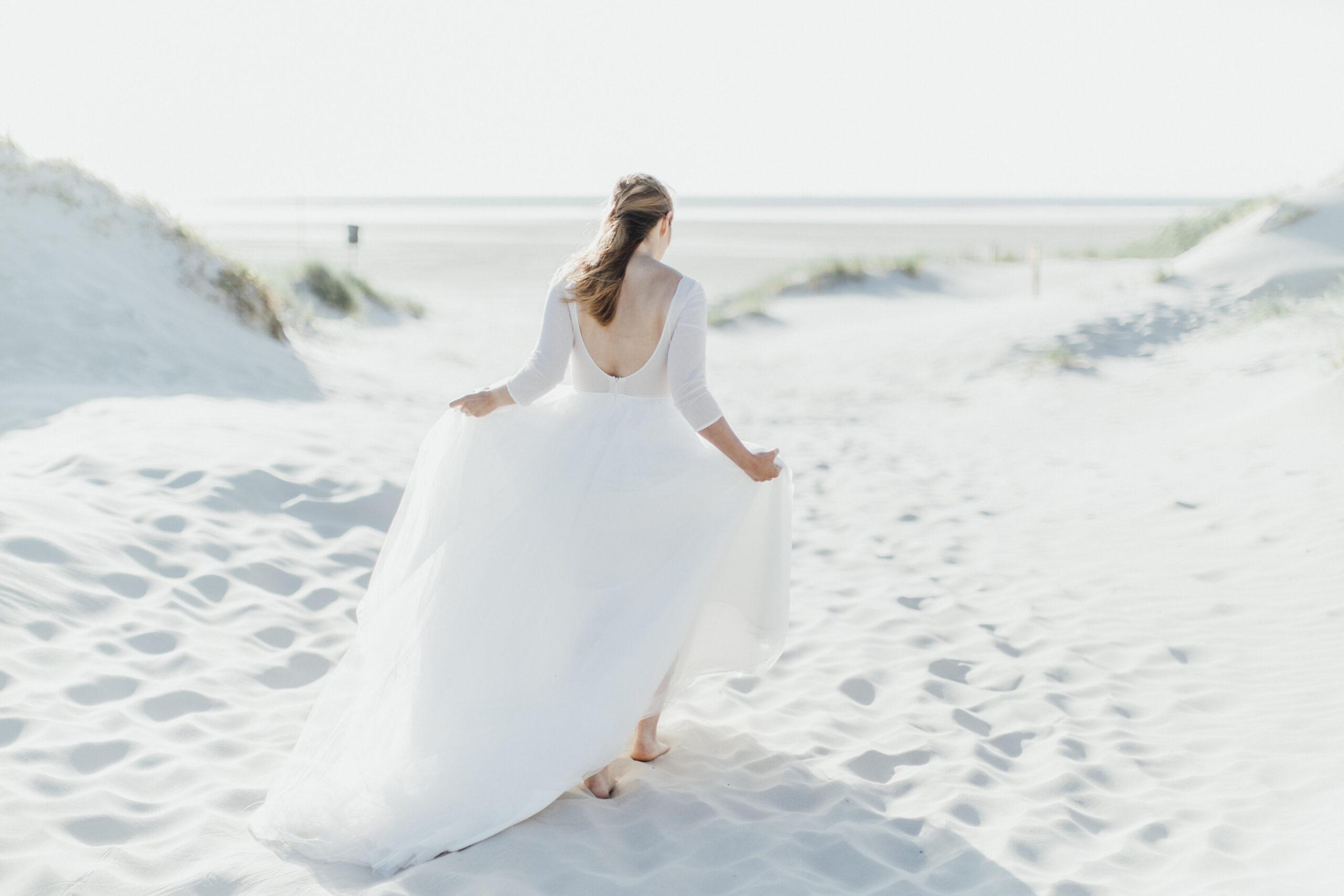 After Wedding Shooting I Instabräute I Brautkleid I Freie Trauung Hamburg
